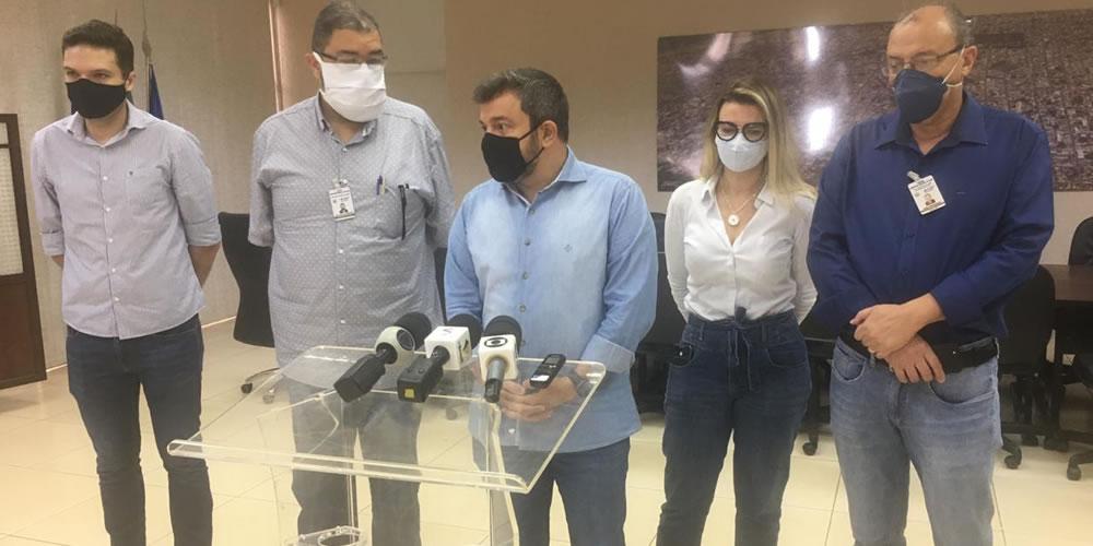 AO VIVO: Prefeito Vinícius Luz fala sobre o novo decreto