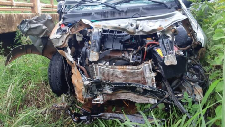 Acidente deixa dois feridos graves e um morto na BR-060 entre Rio Verde e Jataí