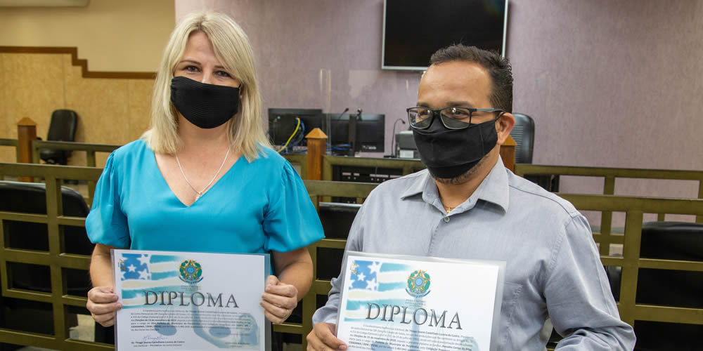 Futuros vereadores, prefeito e vice por Perolândia, são diplomados