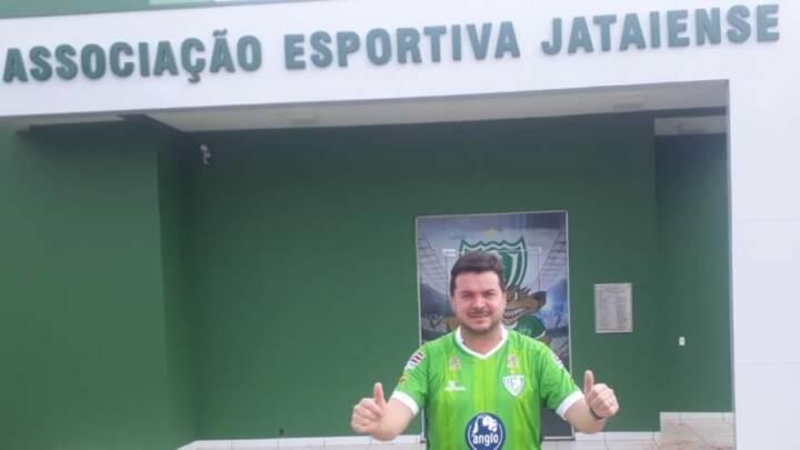 Pela segunda vez Carvalhinho assume o comando da Associação Esportiva Jataiense