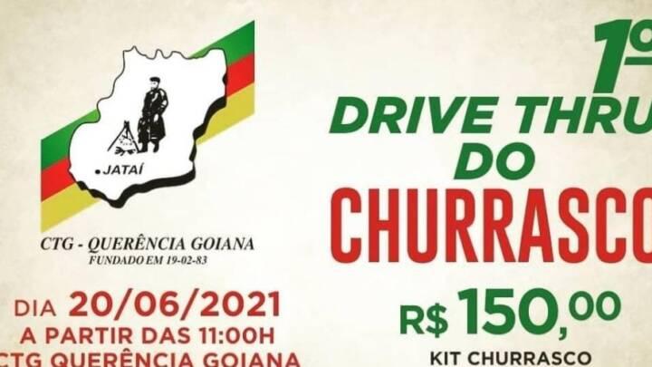 1° DRIVE THRU DO CHURRASCO – CTG