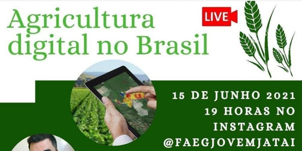 LIVE: AGRICULTURA DIGITAL NO BRASIL