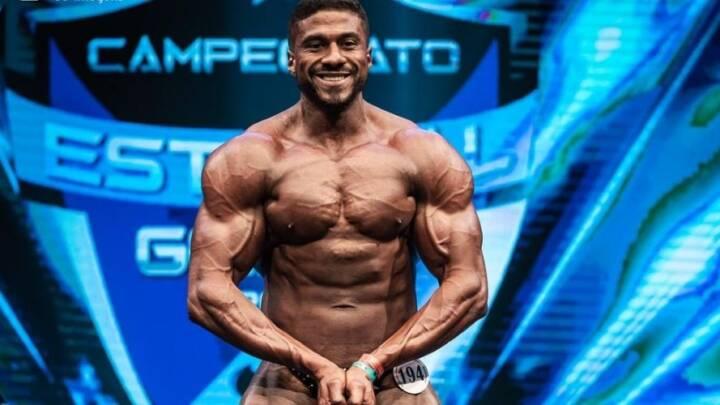 Atleta jataiense é campeão goiano de fisiculturismo na categoria bodybuilder sênior até 100 kg